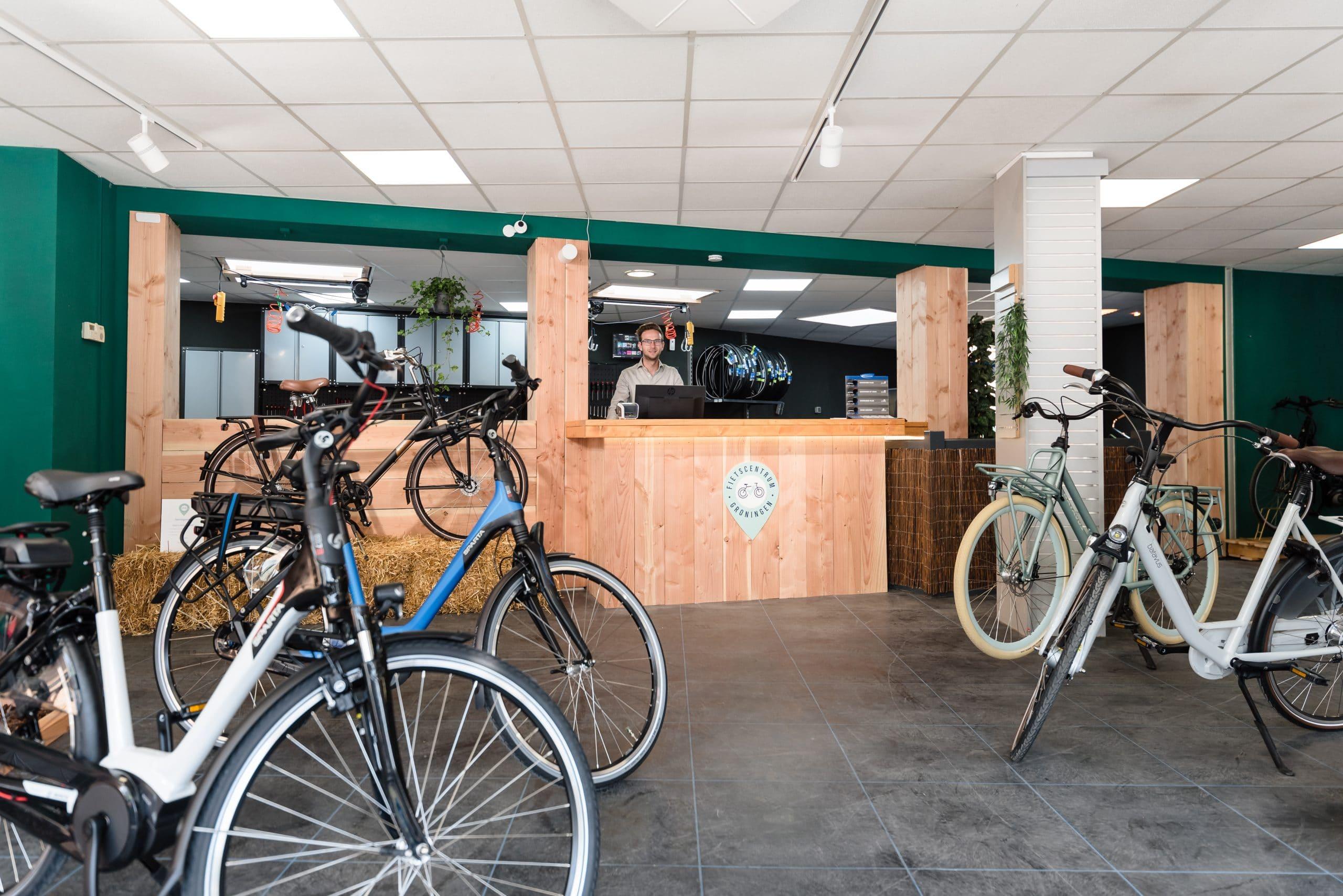 Fietscentrum Groningen fietswinkel e-bikes stadsfietsen kinderfietsen
