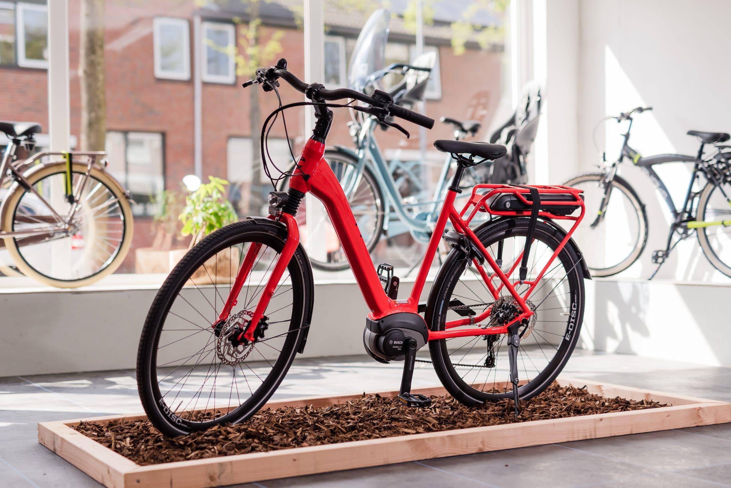 Fietscentrum Groningen fietswinkel e-bikes stadsfietsen kinderfietsen collectie